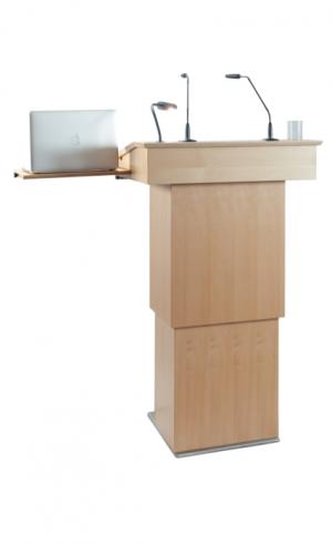 Rednerpult Friedberg Plus Laptop