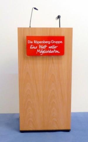 Rednerpult Goslar Beispiel Nr. 2