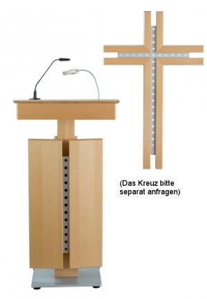 Rednerpult OBERHAUSEN mit Kreuz