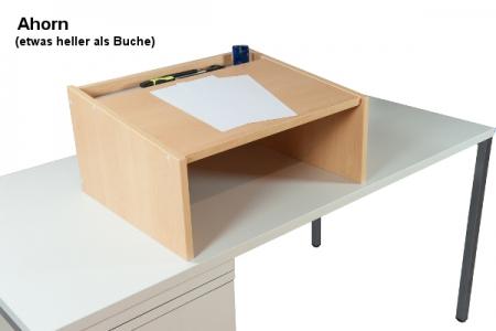 Tischaufsatzpult DRESDEN Ahorn