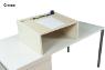Tischaufsatzpult DRESDEN Creme