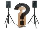 Yamaha Aktiv-Lautsprecher-Set inkl. Stative für Rednerpult