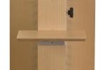 Zweite Ablage an der Holz-Standsäule